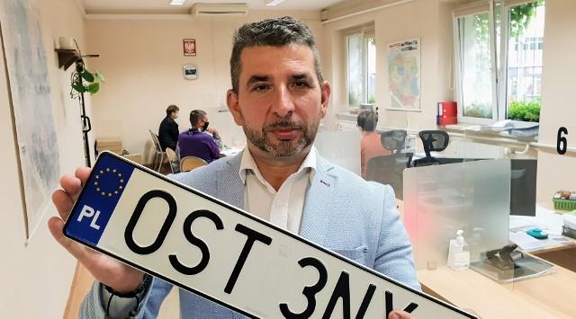 - Zachowanie dotychczasowego numeru rejestracyjnego będzie możliwe na wniosek nabywcy pojazdu - tłumaczy Janusz Żyłka ze starostwa powiatowego w Strzelcach Opolskich.