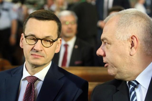 Lewica składa zawiadomienie do prokuratury na Morawieckiego i Sasina. PO domaga się dymisji ministra aktywów państwowych
