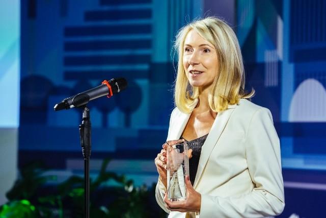 Statuetkę podczas poniedziałkowej gali odebrała Anna Celichowska, członek zarządu Virako.
