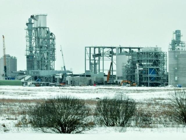 Pierwsza fabryka płyt HDF ma być oddana do użytku już w czerwcu.