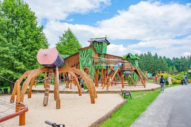 Tak będzie wyglądał nowy plac zabaw w Parku Grabek w Czeladzi Zobacz kolejne zdjęcia/plansze. Przesuwaj zdjęcia w prawo - naciśnij strzałkę lub przycisk NASTĘPNE