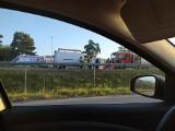 Wypadek na wjeździe do Białegostoku. Dwie osoby zakleszczone w aucie