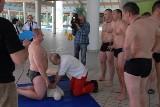 Wspólne szkolenie policji i straży rybackiej.  Mundurowi ćwiczyli na Fali