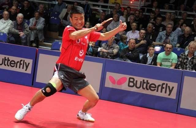 Chen Weixing, jako jedyny zawodnik Energi Manekina, może być w tej chwili pewien tego, że zagra w poniedziałek