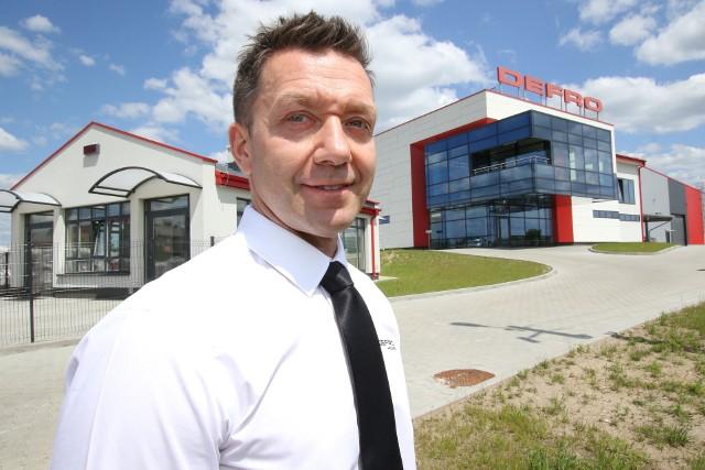 Nowa hala produkcyjna ma powierzchnię 10 tysięcy metrów kwadratowych - mówi Dariusz Błaut.