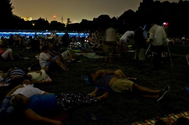 Noc Spadających Gwiazd w Ogrodzie Botanicznym w Łodzi