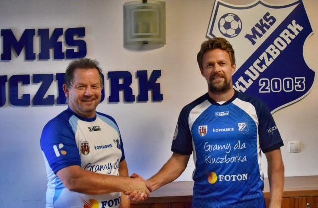 Piotr Jacek pracował już wcześniej na Opolszczyźnie, jako trener Stali Brzeg.