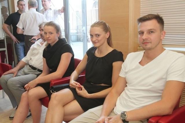 Aleksandra Urbańczyk-Olejarczyk wraz z małżonkiem