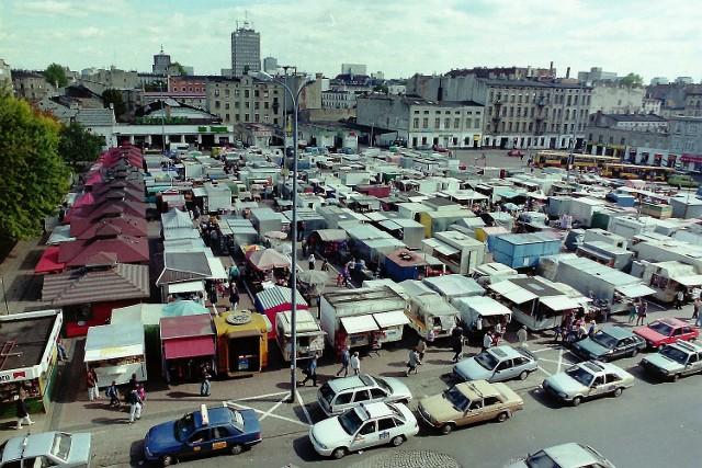 Handel na Placu Barlickiego, czyli na Zielonym Rynku