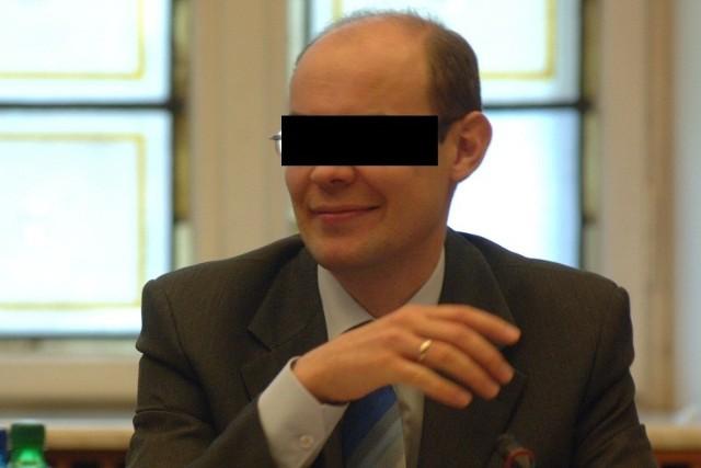 Jarosław O., do niedawna jeden z czołowych lokalnych polityków PiS.