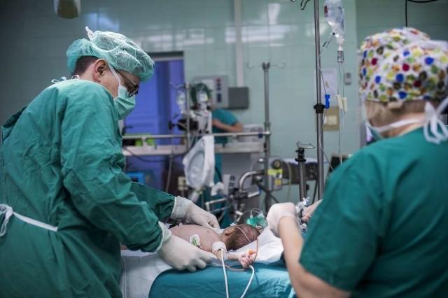 Oddział kardiochirurgii dziecięcej w Szpitalu Klinicznym Uniwersytetu Medycznego im. Jonschnera w Poznaniu