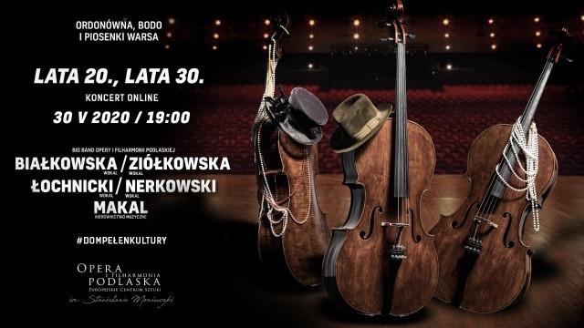 OiFP online. Big Band Opery i Filharmonii Podlaskiej - Lata 20., lata 30