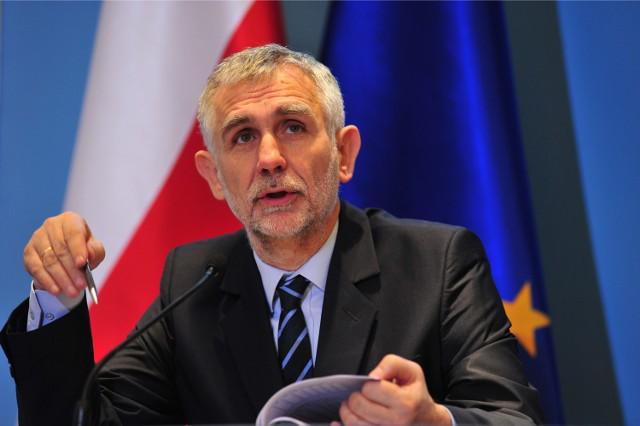 Minister Maciej Grabowski