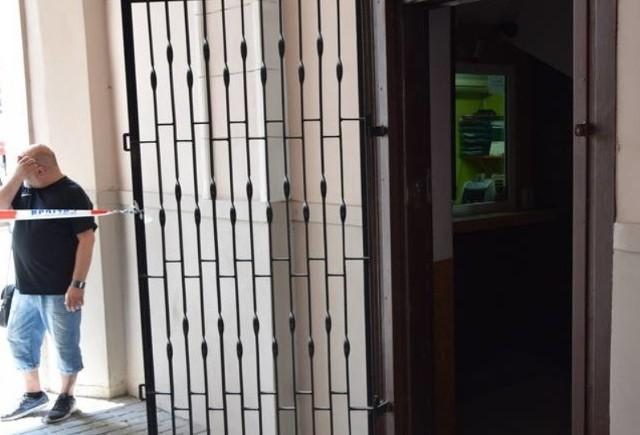 25 lipca dokonano napadu na kantor w Częstochowie