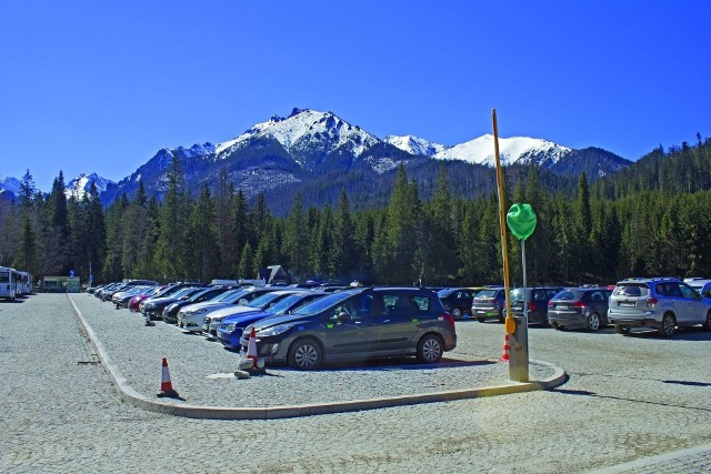 Parking na Palenicy Białczańskiej
