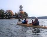 Złota jesień w stanicy PTTK nad jeziorem Wdzydze
