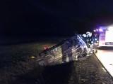 Wdziękoń Drugi. Wypadek na DK66. Dwie osoby trafiły do szpitala (zdjęcia)
