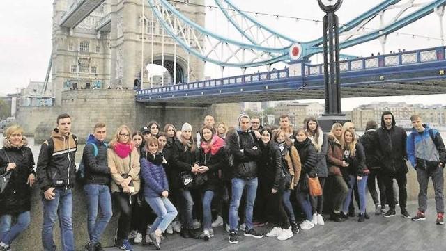 Największą atrakcją dla uczestników projektu był tygodniowy wyjazd do Londynu