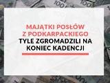 Majątki posłów z województwa podkarpackiego. Tyle zgromadzili na koniec kadencji 2015-2019 [RANKING]