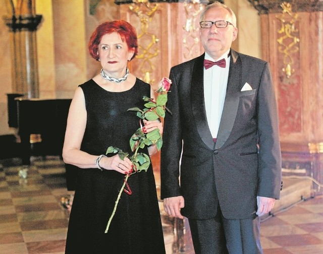 Wicekonsul honorowy Austrii, Jolanta Charzewska-Miller, na Balu Wiedeńskim we Wrocławiu