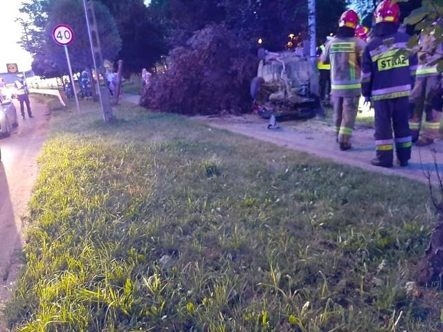W wypadku na ulicy Patriotów ucierpiały dwie osoby.