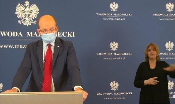 Wojewoda Radziwiłł poinformował o powstaniu banku tlenowego w Radomiu.