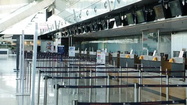 Na lotnisku musiała interweniować straż graniczna