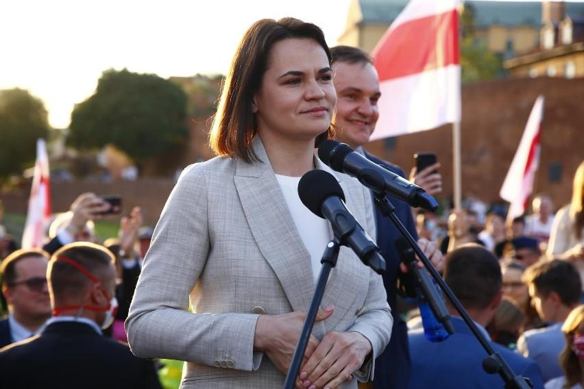 Spotkanie Duda - Cichanouska. Andrzej Duda: Konieczne jest...