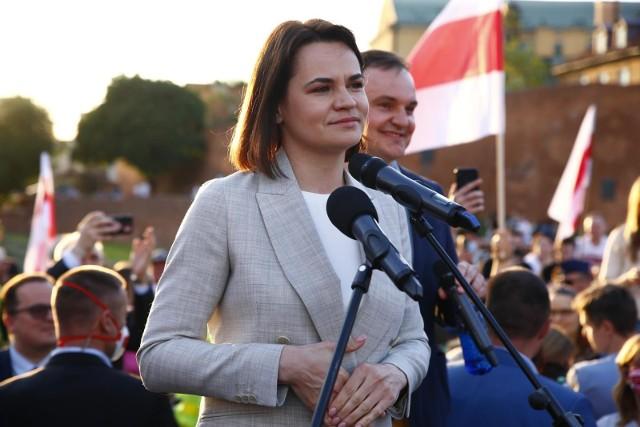 Spotkanie Duda - Cichanouska. Andrzej Duda: Konieczne jest zdecydowane działanie wobec władz białoruskich