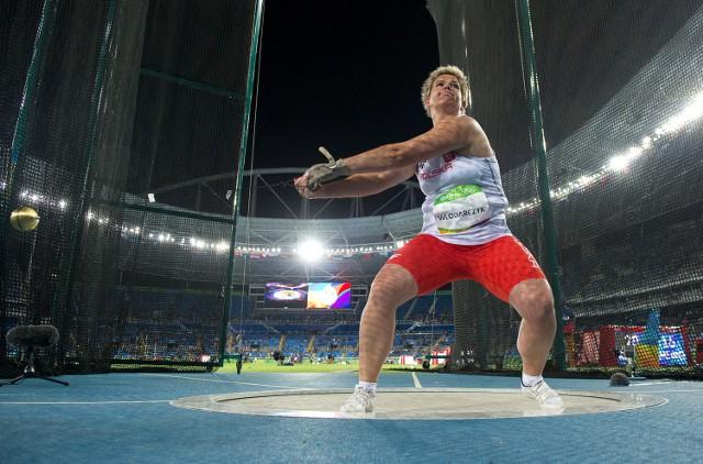 Anita Włodarczyk liczy na złoty medal w rzucie młotem