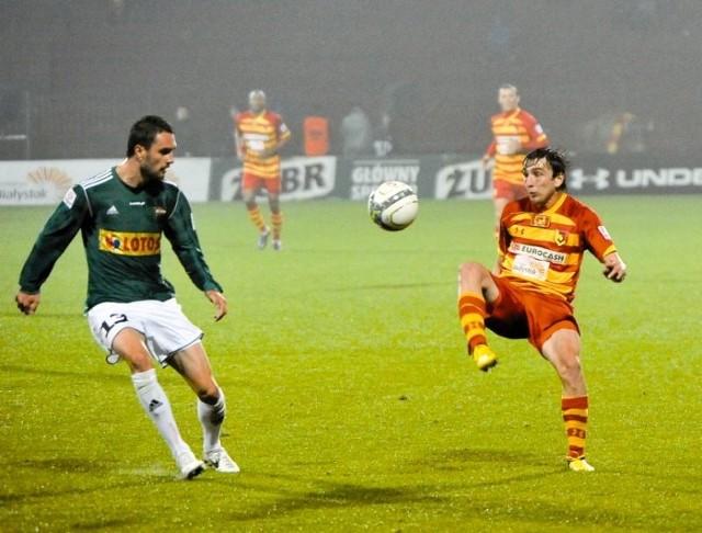 Najlepszy strzelec Jagiellonii - Gruzin Nika Dzalamidze, zdobył w rundzie jesiennej cztery bramki