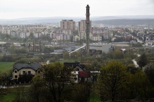 Ten komin wkrótce powinien zniknąć z krajobrazu Kielc
