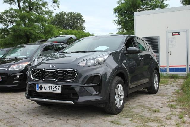 Kia Sportage, rok 2018, 1,6 benzyna, cena 69 800 zł