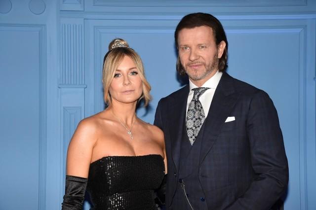 Radosław Majdan z żoną Małgorzatą Rozenek-Majdan