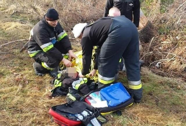 61-latek odnalazł się w lesie w powiecie prudnickim.