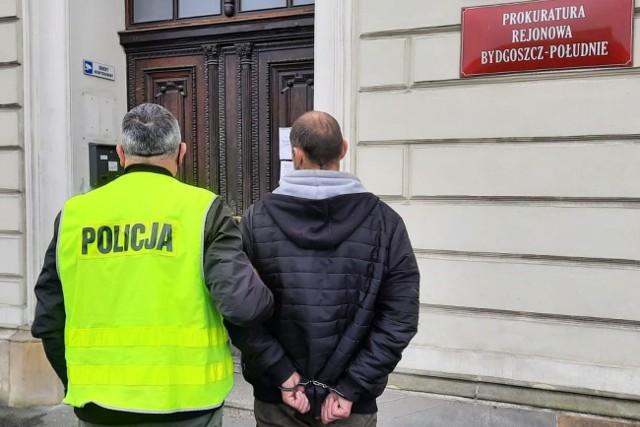 6 listopada przed południem kryminalni z komendy miejskiej namierzyli i zatrzymali 33-latka na ulicy Focha w Bydgoszczy.