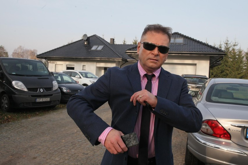 Dom Krzysztofa Rutkowskiego i jego małżonki znajduje się pod...