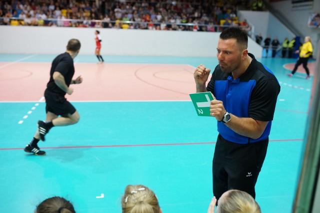 Trener SPR Olkusz Marcin Księżyk ma powody do zadowolenia