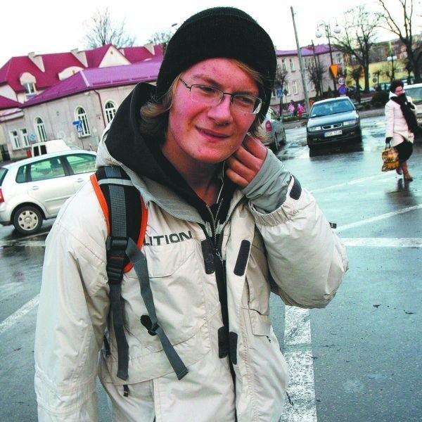 Bardzo fajne macie miasto – twierdzi Michał Bałdowski, licealista z Sokółki. – Co weekend jestem u was. Z kolegami jeżdżę na desce w skateparku na Węglówce.