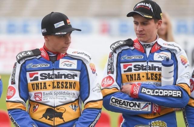Bartosz Smektała (z prawej) i Dominik Kubera