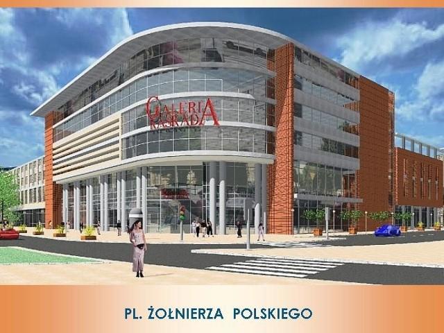 Projekty przyszłej Galerii Kaskada pokazywane były wielokrotnie. Według planów, budowa miała rozpocząć się rok temu. Planowano, że pierwsi klienci pojawią się w 2005 roku. Inwestycja miała kosztować pół miliarda euro. Zlecenie na jej budowę miały otrzymać szczecińskie firmy.