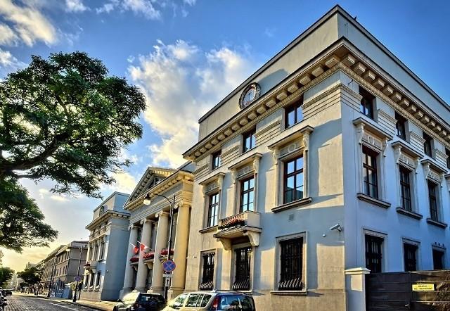 Pałac biskupów łódzkich przy ul. ks. Skorupki 1.