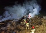 Kolejny pożar balotów siana w Lipie w gminie Ruda Maleniecka. Czy to seria podpaleń?