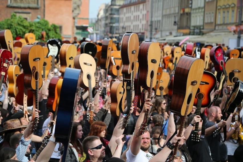 Gitarowy Rekord Świata we Wrocławiu - 19 czerwca 2021