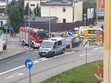 Wypadek w Bydgoszczy. Jedna osoba trafiła do szpitala