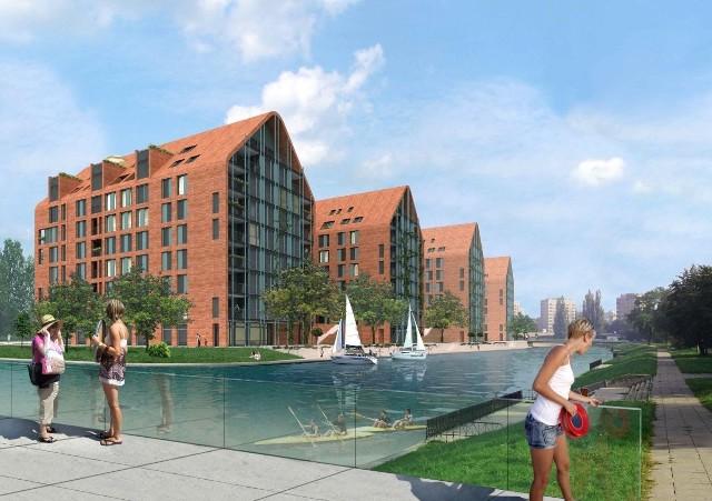 Osiedle Aura Island w GdańskuOtoczone z trzech stron kanałami osiedle Aura Island w Gdańsku to dzieło kieleckiego SPS Construction, prawdziwego potentata na rynku budowlanym i wykonawcy między innymi takiej perełki architektonicznej, jaką jest Galeria Korona Kielce.