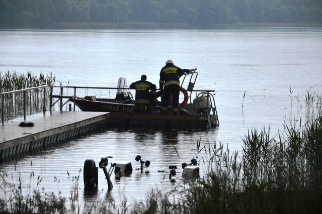 Tragedia nad jeziorem w Chotkowie.