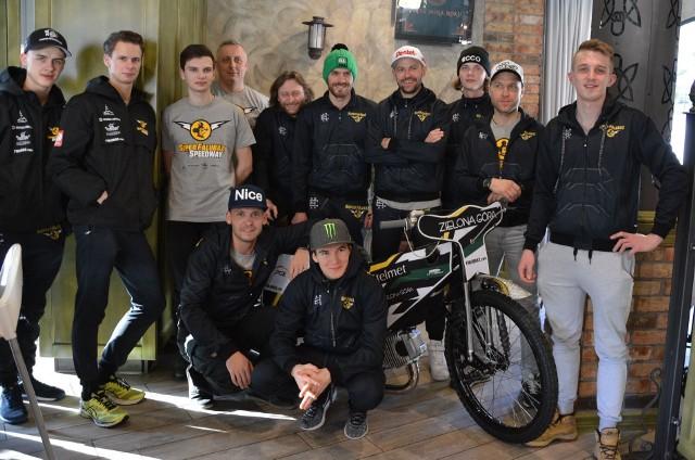 Żużlowcy Falubazu Zielona Góra szykują się do sezonu 2019.