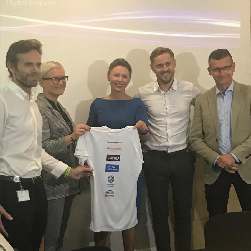 Przedstawiciele głównych sponsorów Poznań Business Run...