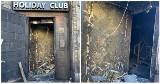 Pożar w Holiday Club Szczecin. Właściciele mówią, że ktoś podpalił klub i proszą o pomoc w ujęciu sprawcy